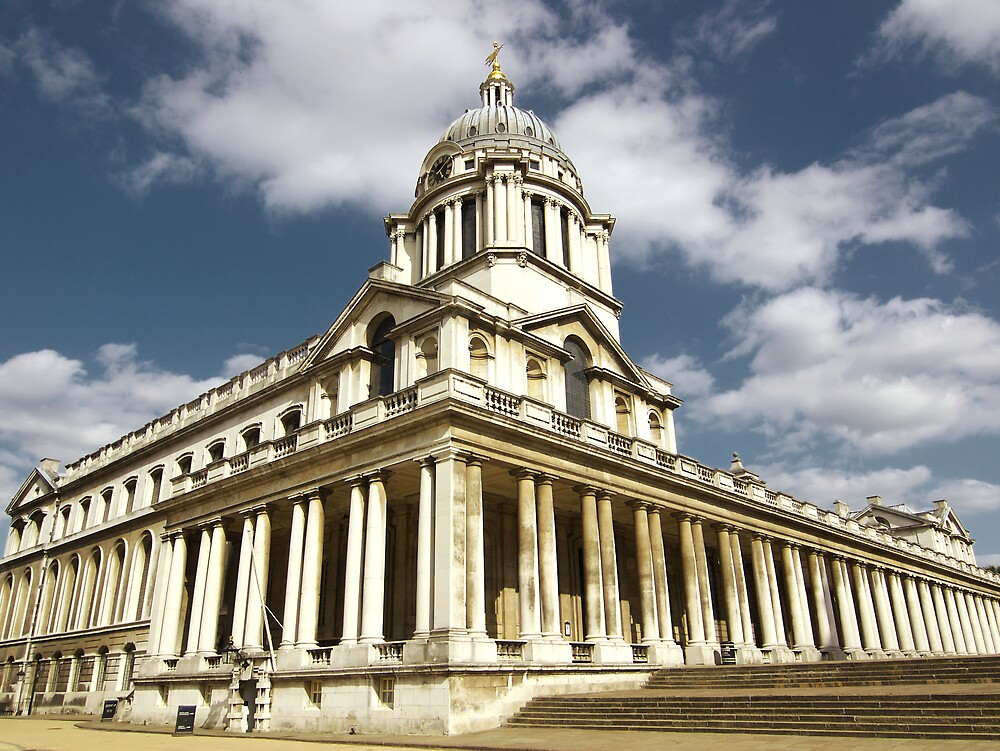Royal Naval College, Greenwich by James  Monk