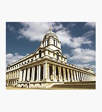 Royal Naval College, Greenwich Photographic Print