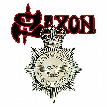 Saxon: Strong Arm Of The Law by Pop-Pop-P-Pow