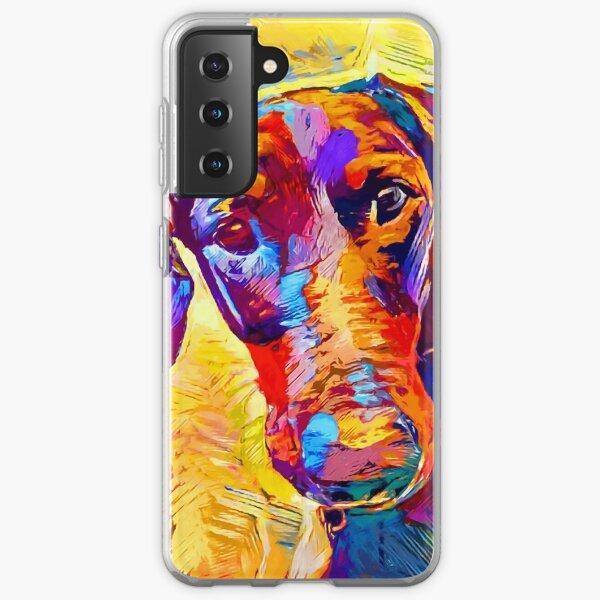 Doberman 4 Samsung Galaxy Soft Case
