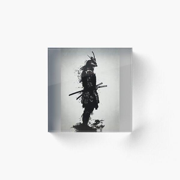 Ink Samurai Acrylic Block