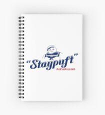 Stay Puft Marshmallow Man Spiral Notebook