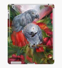 Tropic Spirits - African Greys iPad Case/Skin