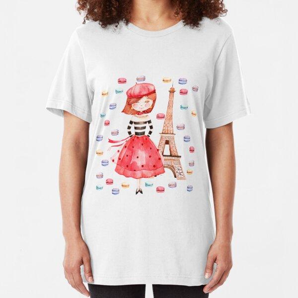 Paris Macarons Slim Fit T-Shirt