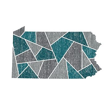 Pennsylvania Mosaic - Philly Flock by DesignSyndicate