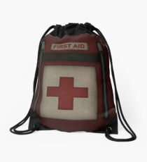 First Aid Kit Drawstring Bag