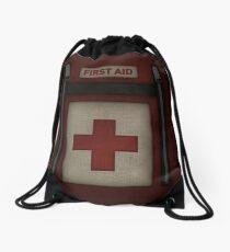 First Aid Kit Drawstring Bag