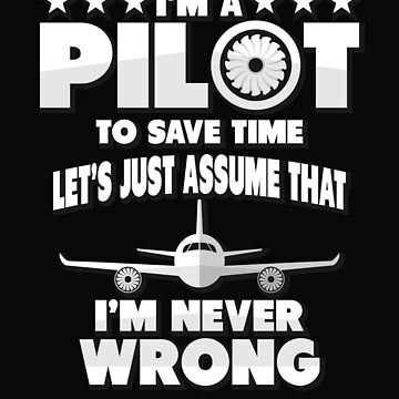 I'm a pilot by dtino