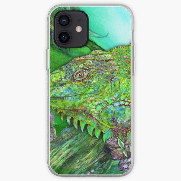 Iguana Cool iPhone Soft Case