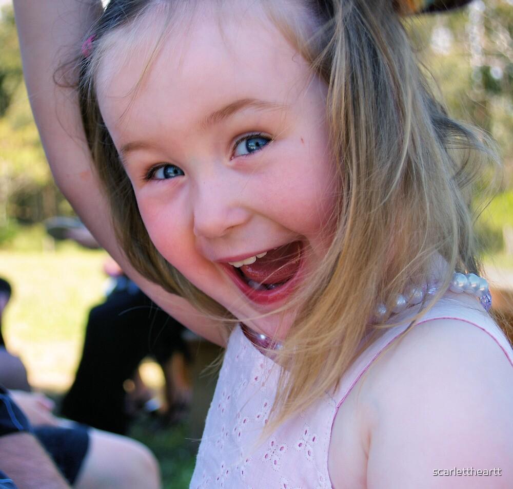 laughing girl by scarlettheartt