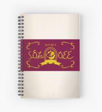 Romani Chateau Milk Spiral Notebook