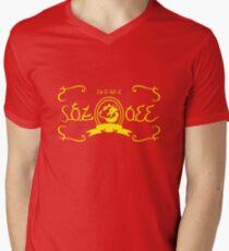 Romani Chateau Milk Men's V-Neck T-Shirt