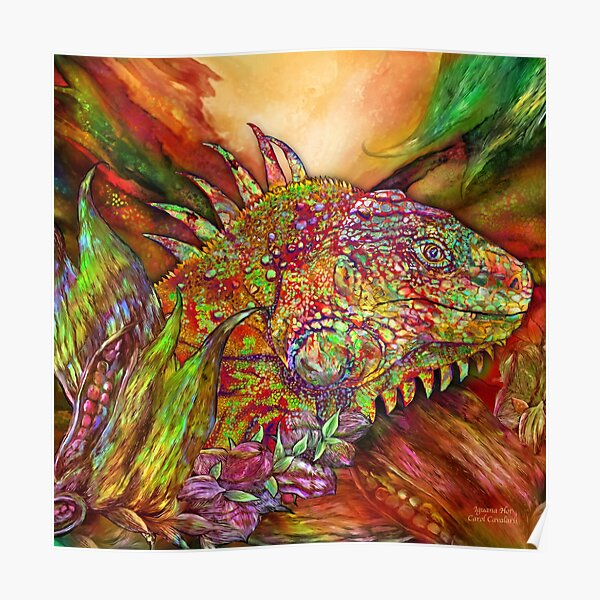 Iguana Hot Poster