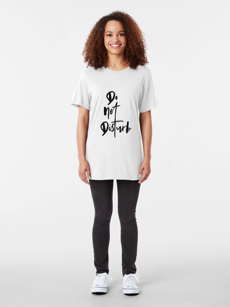 Alternate view of Do Not Disturb Slim Fit T-Shirt