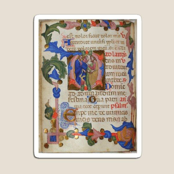 Italian book of hours, circa 1375 Magnet