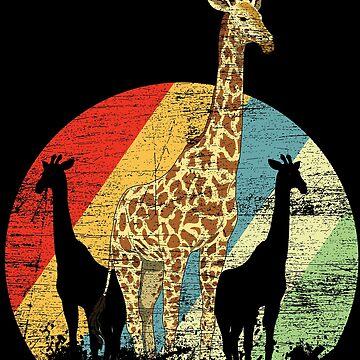 Giraffe animal by GeschenkIdee