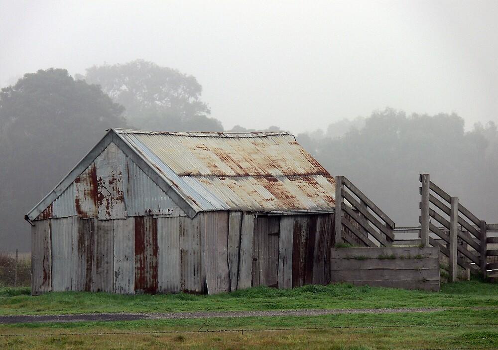 Old cattle shed. by Bernard (Ben)  Bosmans