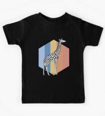 Giraffe Jungtier Kinder T-Shirt