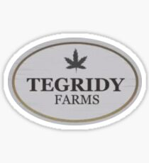 TEGRIDY FARMS South Park  Sticker
