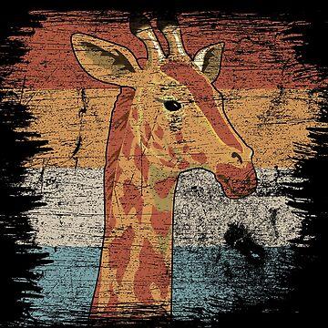 Giraffe horns by GeschenkIdee