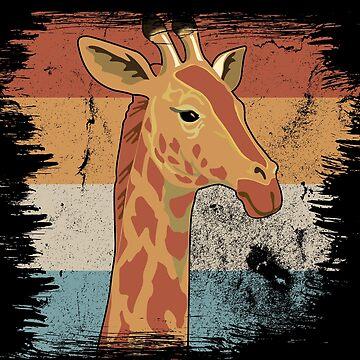 Giraffe stains by GeschenkIdee