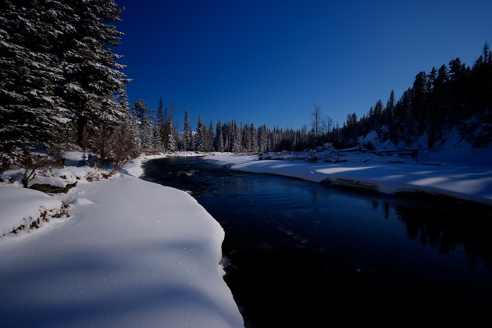 Elk River, British Columbia by Brian Parker
