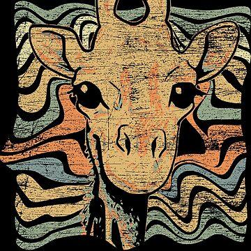 giraffe by GeschenkIdee