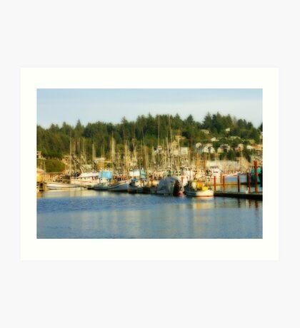 Fishing Fleet #1 Art Print