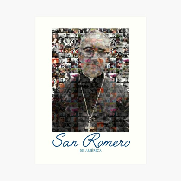 San Romero / Monsignor Oscar Arnulfo Romero Art Print