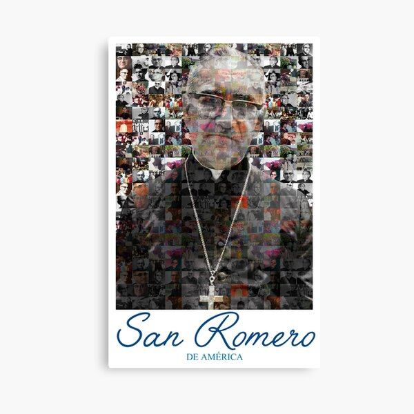 San Romero / Monsignor Oscar Arnulfo Romero Canvas Print