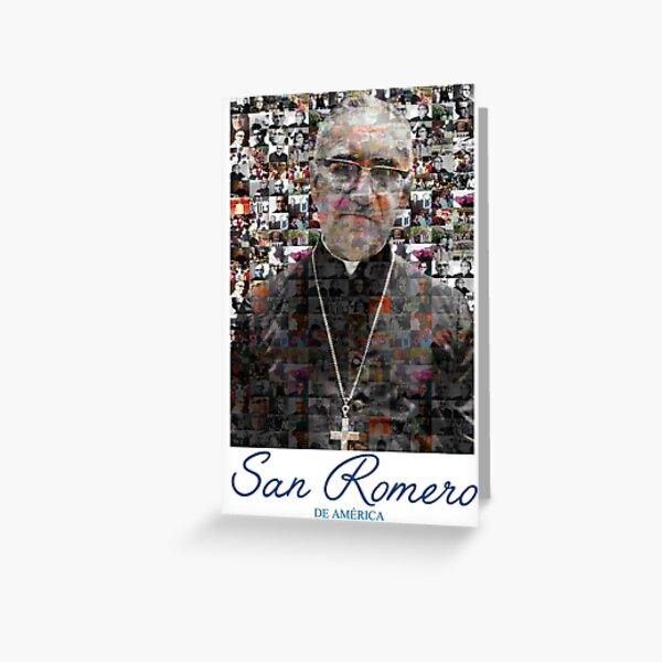 San Romero / Monsignor Oscar Arnulfo Romero Greeting Card