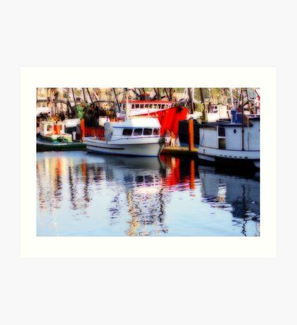 Fishing Fleet #2 Art Print