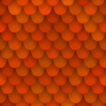 seamless pattern with roof tile by Shoshina
