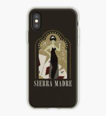 Sierra Madre Poster Design iPhone Case