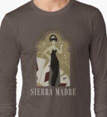 Sierra Madre Poster Design Long Sleeve T-Shirt