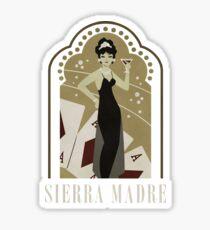Sierra Madre Poster Design Sticker