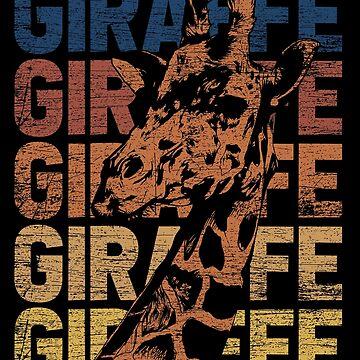 Giraffe Africa by GeschenkIdee