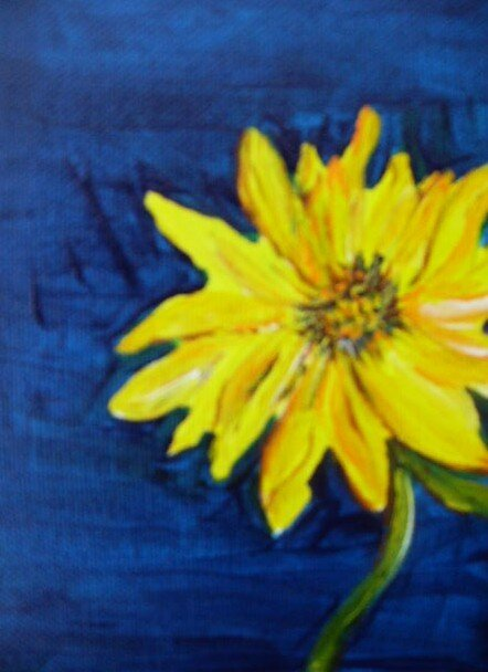 Sunflower to the right by terrilee