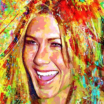 Portrait Jennifer Aniston dream by ADIYAKOV