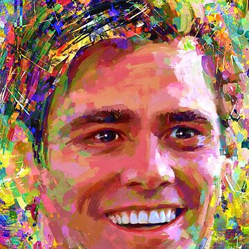 Portrait Jim Carrey dream by ADIYAKOV