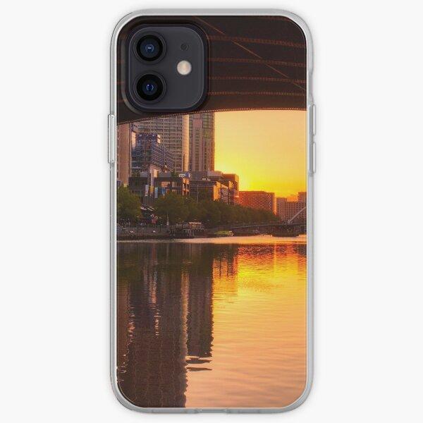 Melbourne City Sunset iPhone Soft Case