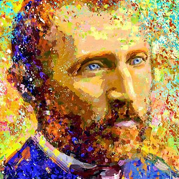 Portrait van Gogh dream by ADIYAKOV