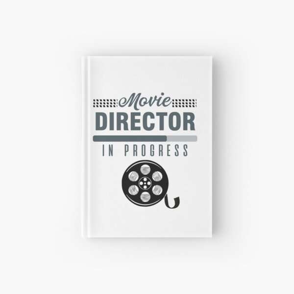 Director Producer Filmmaker Film Movie Cinema Gift Hardcover Journal