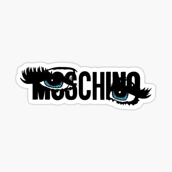 Moschino Girl Eye Pegatina