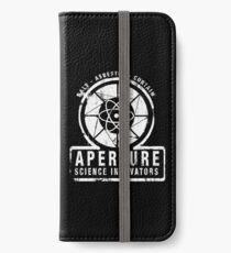 Aperture Science iPhone Wallet/Case/Skin