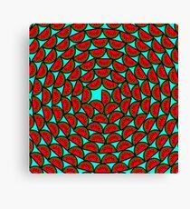 Melon Scales Canvas Print