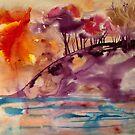 lila Hügel von Marianna Tankelevich