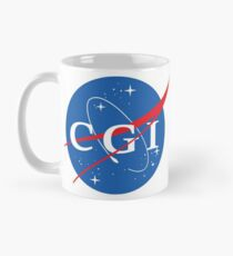 Nasa CGI Logo Mug
