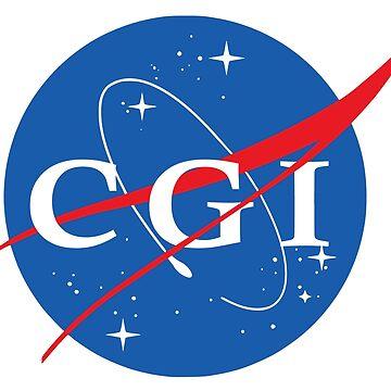 Nasa CGI Logo by idaspark