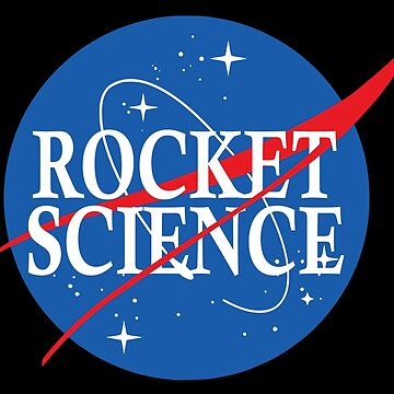 Nasa Rocket Science Logo by idaspark